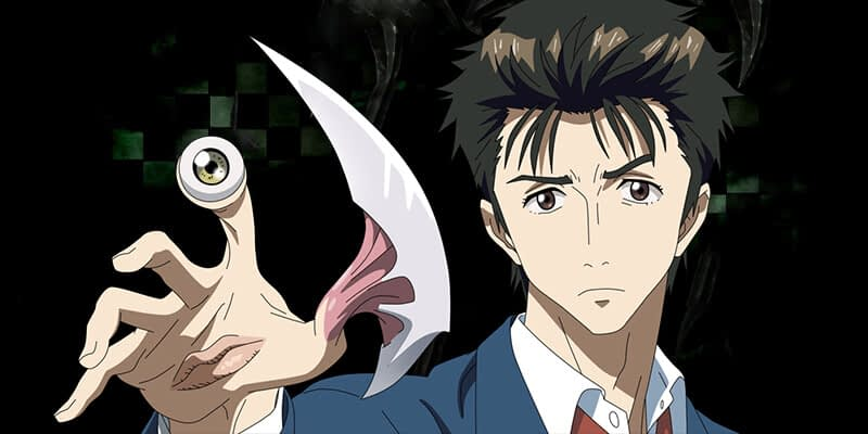 parasyte dark anime shows