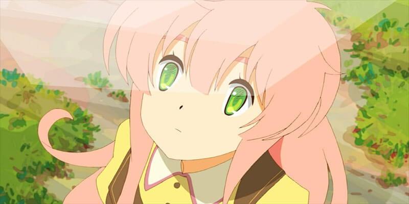 Watashi pink haired  from Jinrui wa Suitai Shimashita