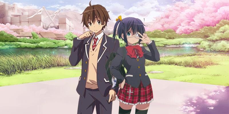 Rikka and Yuuta cute