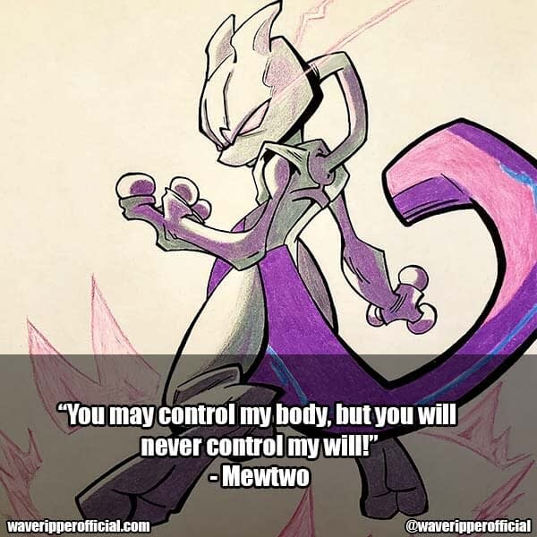 Mewtwo quotes 2