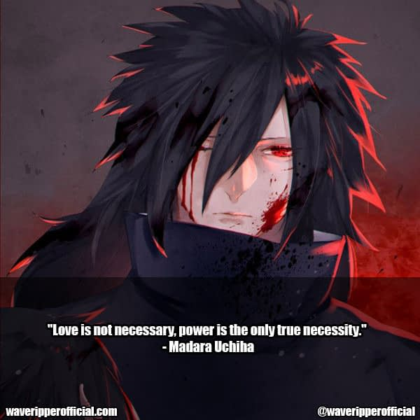 madara uchiha quotes 8
