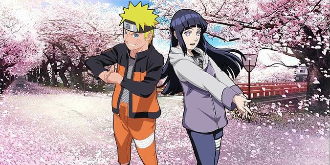 Naruto and Hinata anime couple