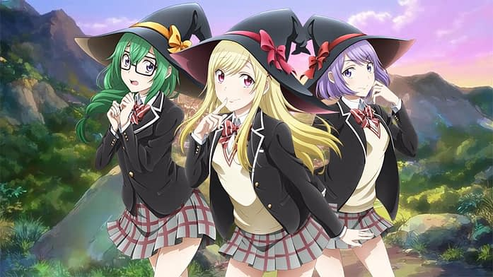 Yamada Kun and the Seven Witches anime best harem anime