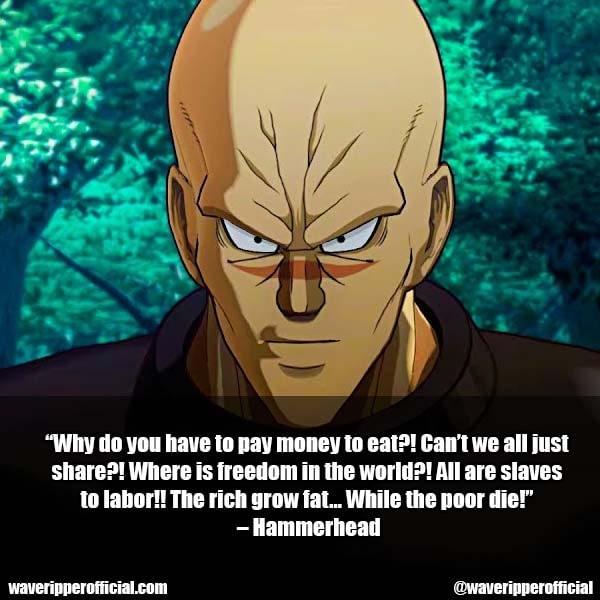 Hammerhead Quotes