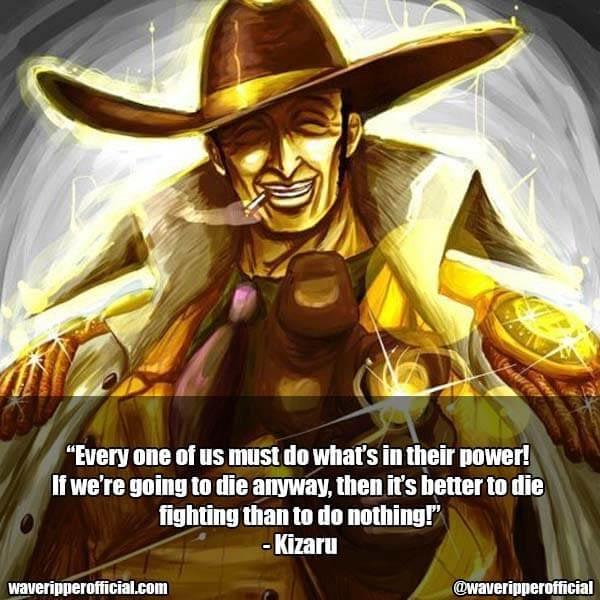 Kizaru quotes one piece