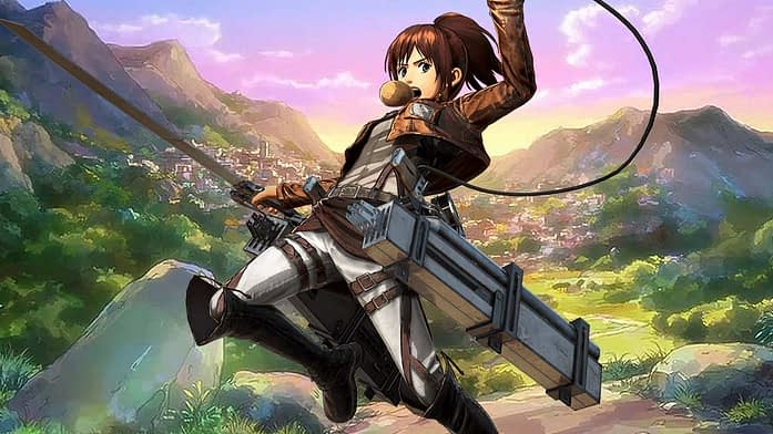 Best Characters in Attack on Titan- Sasha Braus