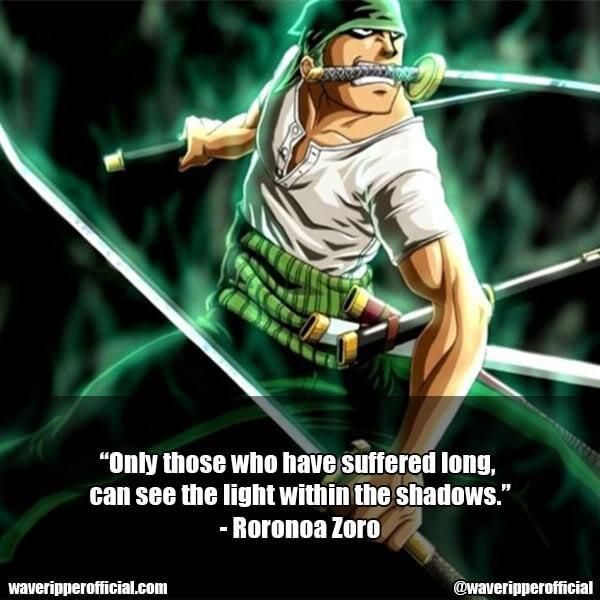 Roronoa Zoro quotes 5