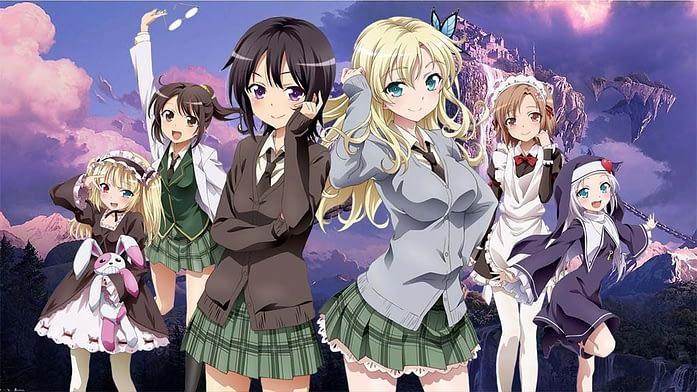 Boku wa Tomodachi ga Sukunai harem anime