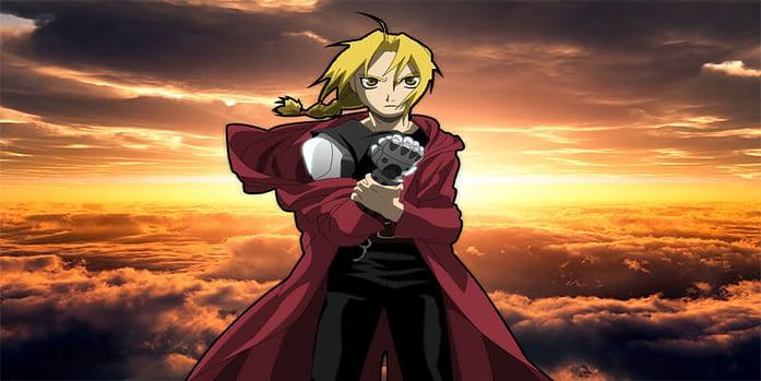 Edward Elric anime boy - Fullmetal Alchemist