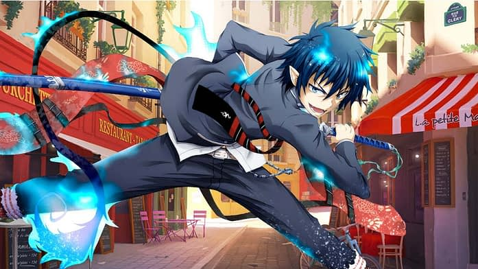 Rin in Blue Exorcist Manga Series