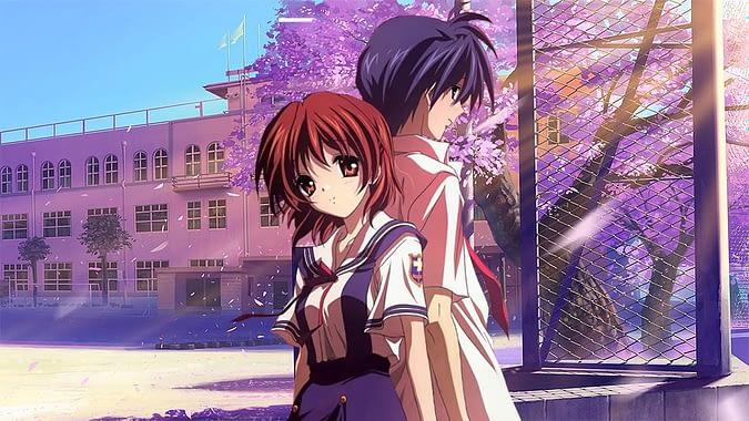 clannad tomoya and youhei sunohara