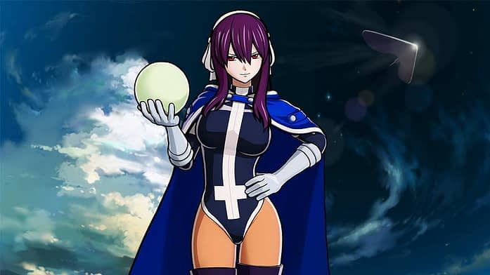 purple-haired anime girls in Fairy Tail