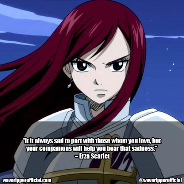 Erza Scarlet Quotes