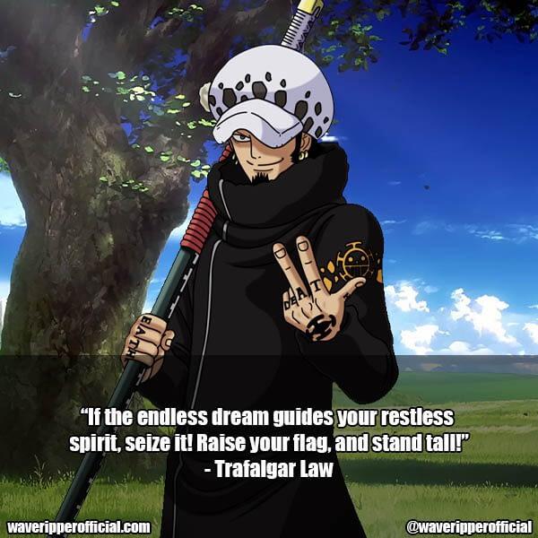 Trafalgar Law quotes 1