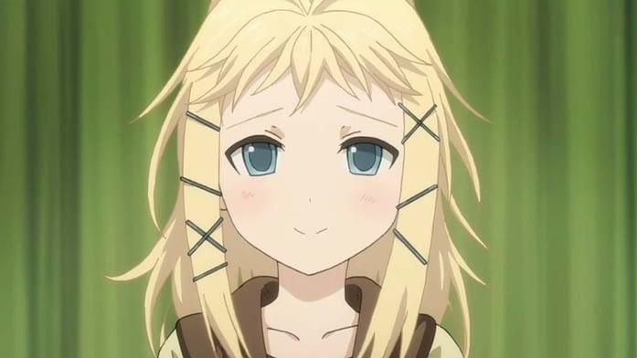 Blond Tina Sprout's Sad Smile