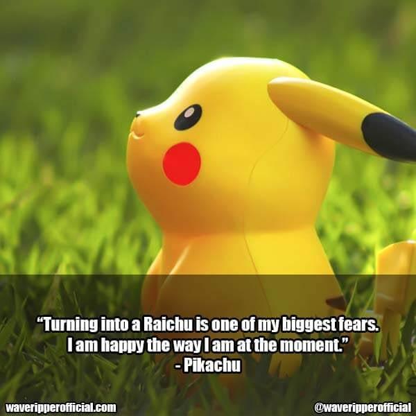 Pikachu quotes 2