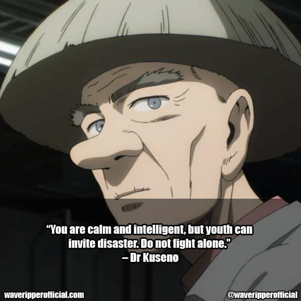 Inspirational Quotes - One Punch Man