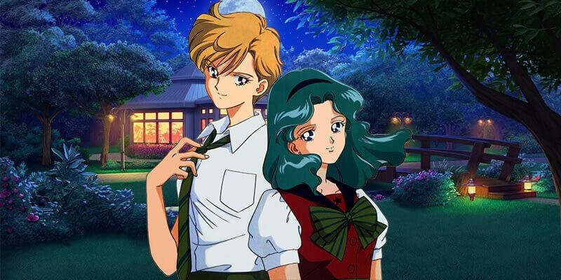Haruko and Michiru badass anime couples
