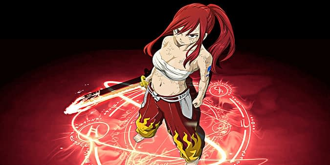Erza scarlet girl fairy tail