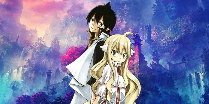 Mavis and Zeref fairy tail anime