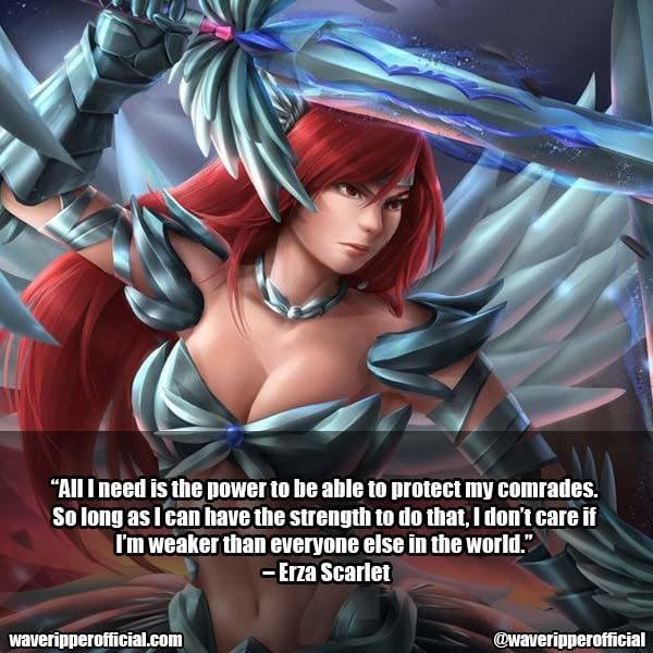 Erza Scarlet Quotes 12