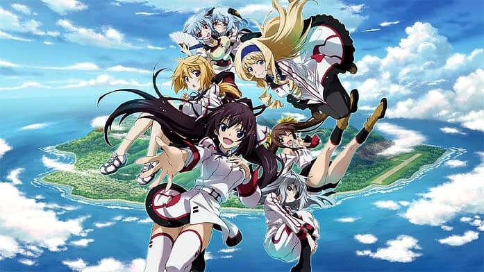 Infinite Stratos harem anime shows