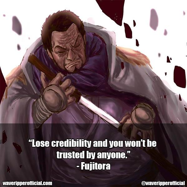 Fujitora quotes