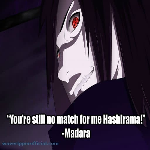 Madara Uchiha quotes 1