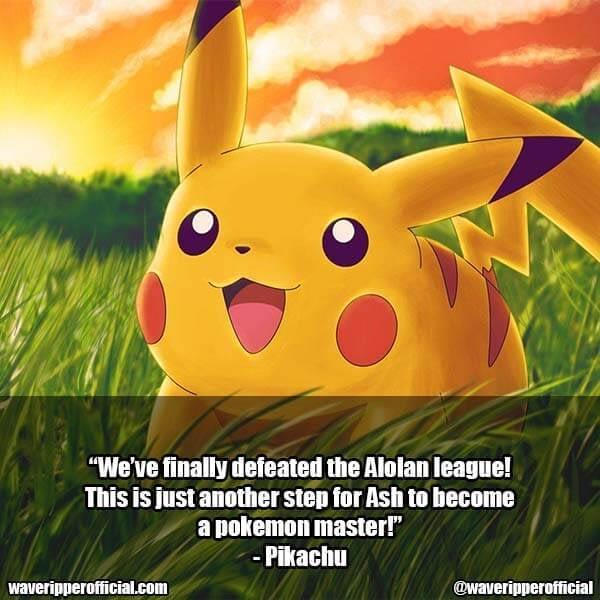 Pikachu quotes 1