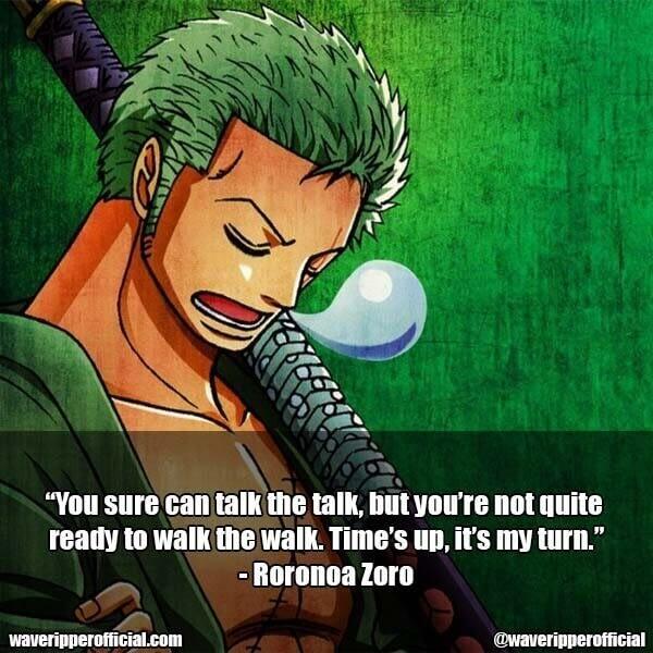 Roronoa Zoro quotes 6