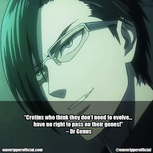 Dr Genus Quotes