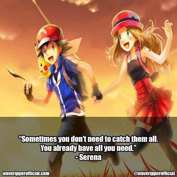 Pokemon quotes love