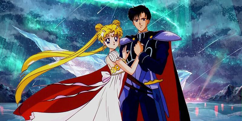 Sailor Moon and Tuxedo Mask couple