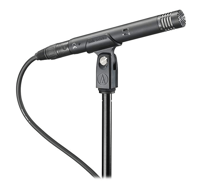best small diaphram condenser microphones for youtube, audio technica at4053b