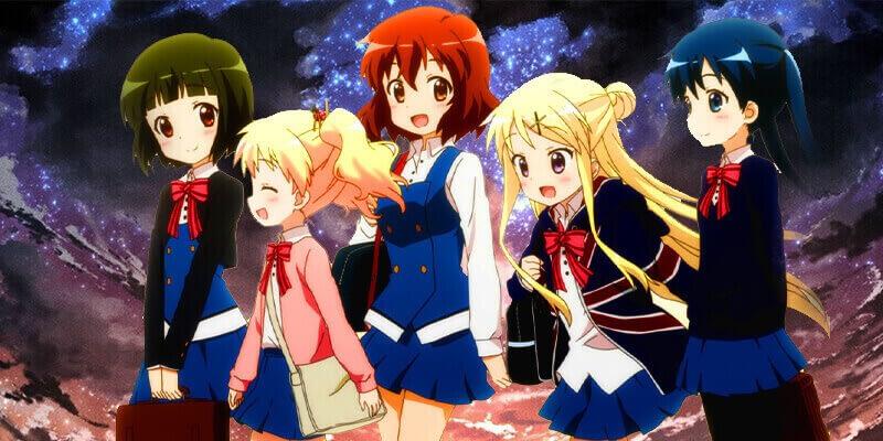 Kinmoza cute girls anime