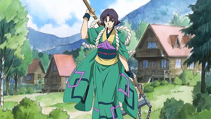 Honjo Kamatari one of the best anime traps from Rurouni Kenshin