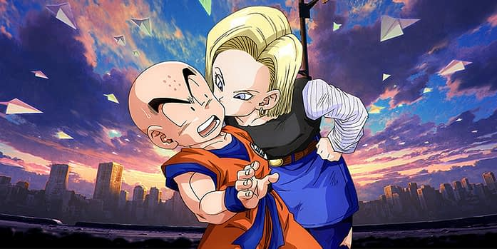android 18 and krillin anime couples