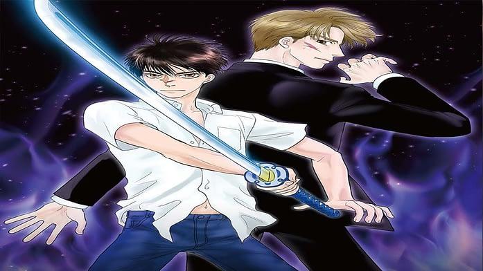 Mirage of Blaze - shounen ai action anime