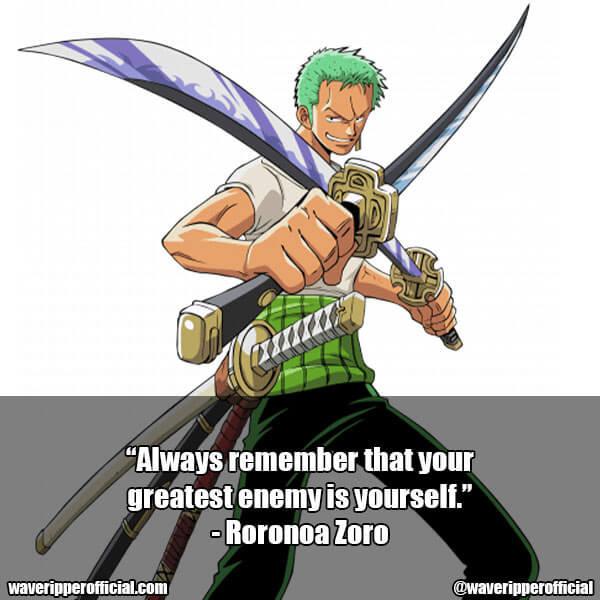 Roronoa Zoro quotes 2