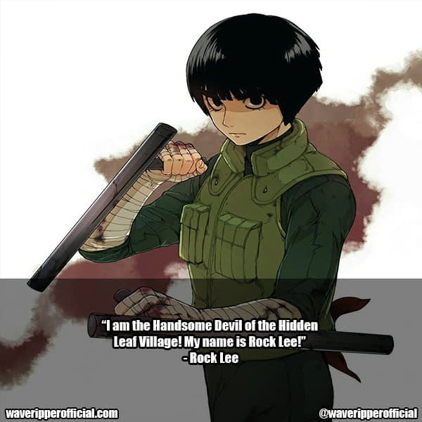 rock lee quotes 6